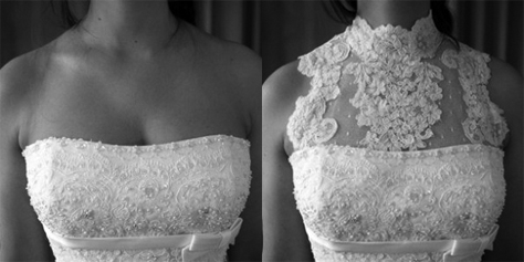 Services bridal dress alterations high quality bridal before and after remodelling junglespirit Choice Image