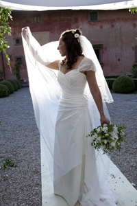 Wedding dress remodelling
